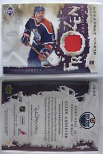 2007-08 UD Artifacts FA-GA Glenn Anderson 1/1 frozen artifacts spectrum 1 of 1