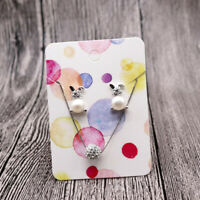 100 PCS, 10 Different Exquisite Patterns Paper Earring Display Cards