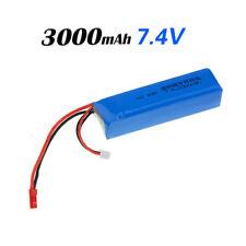FRSKY 3000mAh 7.4V 2S RC Lipo Battery for Frsky X9D Plus JR FUTABA Transmitter