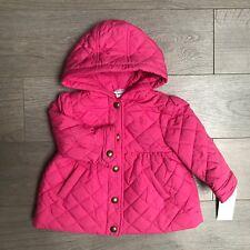 BNWT splendide Ragazze RALPH LAUREN cappotto RRP £ 100 Taglia 18 mesi Rosa 100% AUTENTICO