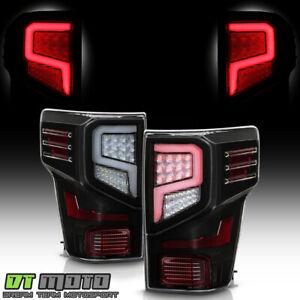 For 2016-2021 Titan|Titan XD Black LED Tube Tail Lights Brake Lamps Left+Right