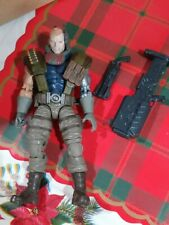 MARVEL LEGENDS 2018 X-MEN CABLE USED. FOR PARTS OR CUSTOM USE.