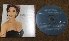 VANESSA WILLIAMS Save the best for last 1991 USA PROMO Radio DJ CD single
