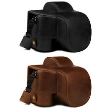 MegaGear Ever Ready Genuine Leather Camera Case for Nikon Z50 (16-50mm)