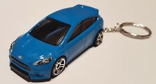 Hotwheels ford focus rs keyring diecast car