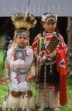 Native American Indian Children Oklahoma Traditional Clothing etc OK - Postcard