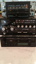 3 Vintage Car Stereos AM/FM one w/ Cassette Player (Old School)