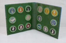 Vintage Collection Album 16 Different Shrek Medallions DreamWorks 2009 Pendant