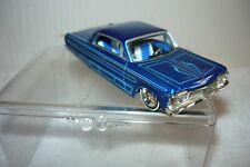 JADA 1964 Chevrolet Impala Low Rider - Rubber Tires - Homie Rollerz - Blue