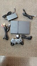 Sony PlayStation 2 Slim Launch Edition Bundle Black Console (Scph-700012)