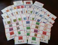 51 FLASH CARDS -ALTERNATIVE SPELLING PATTERNS  - LETTERS & SOUNDS  PHONICS WRITE