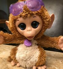 FurReal Friends Baby Cuddles My Giggly Monkey Pet Plush Interactive Toy 8""