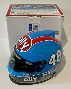2020 Jimmie Johnson 7 7 7 Champion Signed NASCAR 1/4 Scale Mini Helmet W/ COA