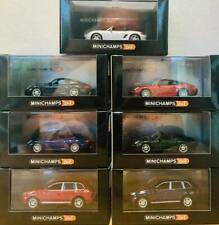 1:64 MINICHAMPS Porsche 911 - Boxster - Cayman - Cayenne Models IN STOCK !!!