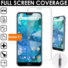 1x FULL SCREEN Curved fit TPU Screen Protector Cover Guard for Nokia 7.1