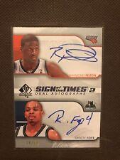 NBA Dual Auto Card Raymond Felton & Randy Foye Upperdeck Sp Authentic08-09 34/50
