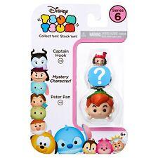 Disney Tsum Tsum Series 6 3 Pack Peter Pan Mystery Character Captain Hook
