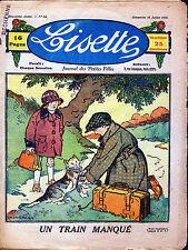 LISETTE   --(Six fascicules de 1922)