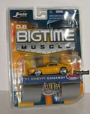 Jada Bigtime Muscle 1971 Chevrolet Camaro 71 Chevy Wave 5 CLTR 054 1:64 R