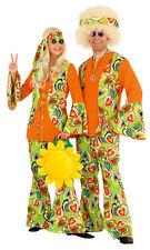 70er 80er Jahre Kleid Kostüm Flowerpower Herren Hippie Hippy Hippiekostüm Party