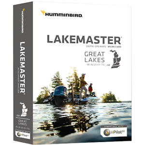 Humminbird Lakemaster Maps, Great Lakes