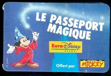PASSEPORT MAGIQUE EURO DISNEY JOURNAL DE MICKEY ETAT NEUF N° 86  TRES TRES RARE