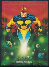 1992 Marvel Masterpieces Trading Card #68 Nova