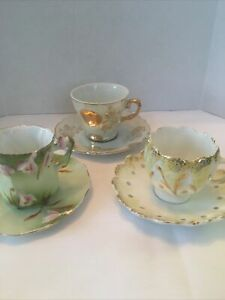 miniature tea cups And Saucers