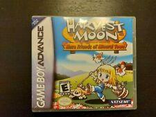 Nintendo Gameboy Advance Harvest moon más amigos de Mineral Town Genuino Carro