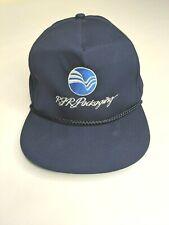 Vintage RJR Packaging Tobacco Blue Snapback Adjustable Farm Cap Hat OSFA