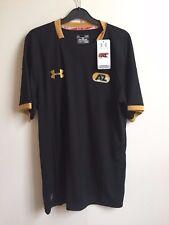 Under Armour UA Men's HeatGear Fitted AZ Alkmaar Away T Shirt - Large - Black