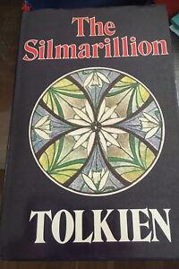 The Silmarillion J. R. R. Tolkien  HB/DJ Incl Map 1977