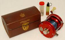 Collectible Vintage - AMBASSADEUR 5000 Baitcasting Reel w/ Case & Extras *RARE