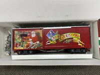 LGB 47674 G Large Scale Merry Christmas Boxcar NEW with sleeve