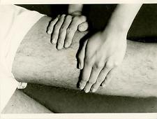 Massage Vintage silver print Tirage argentique  18x24  Circa 1960  <div st