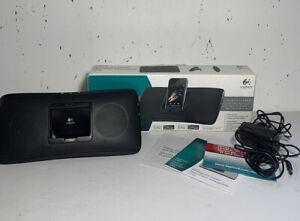 Logitech S315i Speaker - Cradle for iPod®, 3.5mm Aux, Rechargeable Battery, Plug