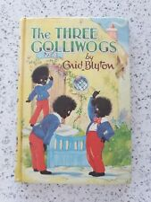 The Three Golliwogs by Enid Blyton Dean & Son 1969 Vintage Collectible Book