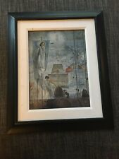 SALVADOR DALI THE DISCOVERY OF AMERICA BY C COLOMB,1959' RARE 1990 MUSEUM PRINT