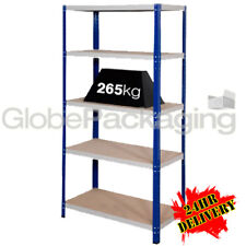 1 Bay Of SUPER HEAVY DUTY & WIDE Industrial Warehouse Shelving 1800x1200x600mm