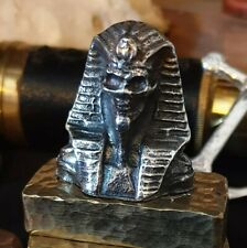 More details for hand poured .999 fine silver undead pharaoh pure silver bullion