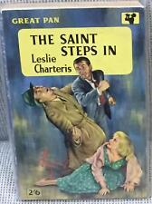Leslie Charteris / THE SAINT STEPS IN 1959