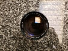 Soligor Tele- Auto 1:2.8 f=135mm Lens Miranda Mount Excellent Condition!!!