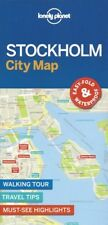 Lonely Planet Stockholm City Map (Sweden) *FREE SHIPPING - NEW*