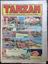 TARZAN Éditions Mondiales n°242 du 12 mai 1951 Bon état non découpé