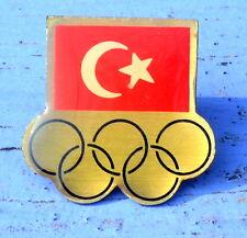 Pin's du début des années 1990,Turquie, probablement pour les Jeux Olympiques 92