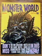 Monster World #3 VF WARREN PUBLISHING