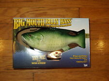 Big Mouth Billy Bass Singing Fish New in Carton Tested.