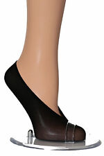 5 Pairs Womens Girls Black Shoe Liners Footsies Invisible Socks  One size UK 3-7
