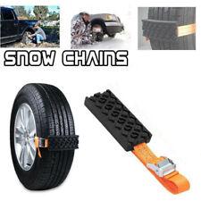 PU Anti-Skid Car Tire Traction Blocks Emergency Snow Mud Sand Tire Chain Straps