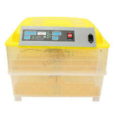 220V 80W Fully Automatic Digital Egg Incubator 96 Eggs Poultry Duck Hatcher Dt �